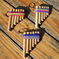 Inca PanFlute Keychain