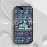 Forever Young Disney Aztec Pattern iPhone 5|5S|SE  Case | armeyla.com