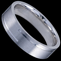 Silver ring, wedding ring