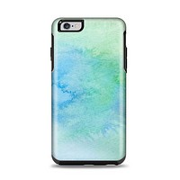 The Subtle Green & Blue Watercolor Apple iPhone 6 Plus Otterbox Symmetry Case Skin Set