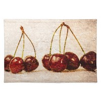 Cherries Cloth Place Mat