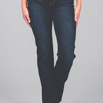 Whitney Whiskered Boot Cut Jeans