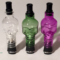 Glass Skull Attachment for Micro Vapes