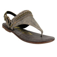 Naughty Monkey Enchilado Black Sandals