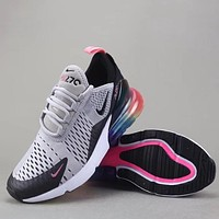 Trendsetter Nike Air Max 270 Flyknit  Women Men Fashion Sneakers Sport Shoes