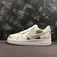 Realtree x Nike Air Force 1 Low AF1 White Camo