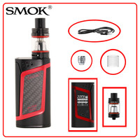 Smok Alien Kit with 3ml TFV8 Baby Tank and Alien 220W Box Mod Electronic Cigarette Vape Kit 18650 battery not included