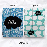 The Fault in Our Stars Smart Cover for iPad mini, iPad mini 2 retina, iPad Air with back case - TFIOS standing function smart cover - L74 from UNIQstyle