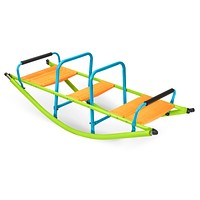 Pure Fun Kids Dual Rocker Seesaw, Indoor or Outdoor