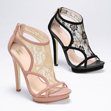 Lace-inset Strappy Sandal - VS Collection - Victoria's Secret