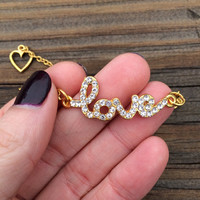 Valentine's Day Gift, Love Bracelet, Gift For Girlfriend, Womens Gift, Valentine's Day Gift for Women