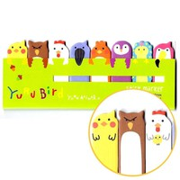 Bird Animal Themed Memo Pad Post-it Index Tab Sticky Bookmarks