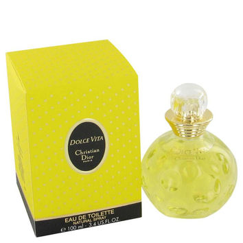 DOLCE VITA by Christian Dior Eau De Toilette Spray (unboxed) 3.4 oz