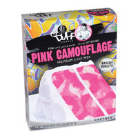 Products   The Essentials   Duff™ Pink Camouflage Cake   Duff.com