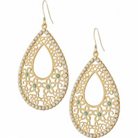 Brighton Daisy Lace French Wire Earrings