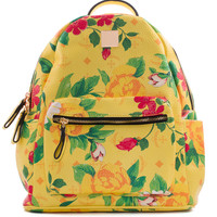Finley Floral Backpack - Yellow