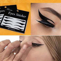40 Pairs Beautiful Temporary Eye Tattoo Transfer Eyeshadow Eyeliner Stickers