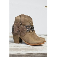 Cowgirl Sparkle Ankle Boot | Best Seller