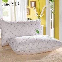 JaneYU 2018 100% Cotton healthy pillow cotton filled Neck health cotton bedding pillow 48x74cm High quality