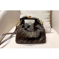 Fendi new tide brand female shoulder bag Messenger bag