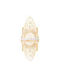 18K Pink Gold Lace Ring