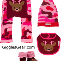 Pink Camouflage Girls (Set of 4)