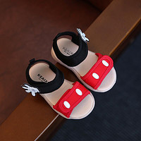 2018 Lovely palm baby girls summer shoes casual sport sandals for girls beach shoes baby first walkers (have red color now)