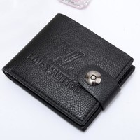 Boys & Men Louis Vuitton Men Leather Purse Wallet