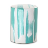 Watercolor Garden Stool MINT