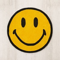 Chinatown Market For UO Smiley Plush Rug | Urban Outfitters