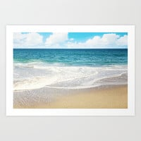 beach vibes Art Print by sylviacookphotography