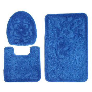 ADUTY Bathroom Polypropylene Mat (3 Sets)