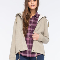Roxy Shinning Moon Womens Jacket Olive  In Sizes