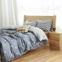 Cotton Duvet Cover Bed Set Geometric Bedding Sets Comforter Sets Twin Bedding Set Queen Pillowcase America Russia RuFamily Size