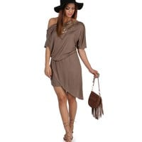 Promo- Brown Valencia Dress