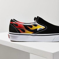 vans-flame-classic-slip-on-sneaker-urban-outfitters number 1
