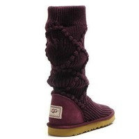 UGG Women Fashion Wool Winter Snow Boots High Boots Shoes-2