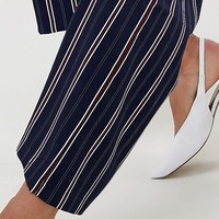 Vila stripe suit PANTS at asos.com