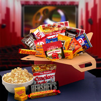 Blockbuster Night Movie Care Package with 10.00 Redbox Gift Card