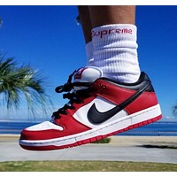 "Nike SB Dunk Low ""Chicago"" low-top sneakers shoes"