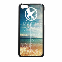Hunger Games Quote May The Odds Be Ever Beach iPhone 5c Case