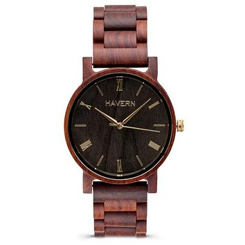 The Curtis Sandalwood | Wooden Watch