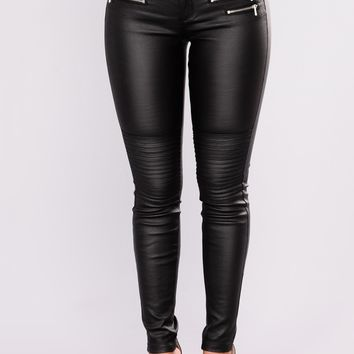 Everlong Moto Pants - Black