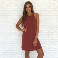 Sway One Way Dress In Salmon