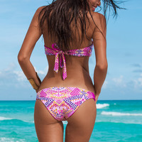 Hot New Arrival Summer Swimsuit Sexy Beach Women's Fashion Print Swimwear Bikini [4970293508]