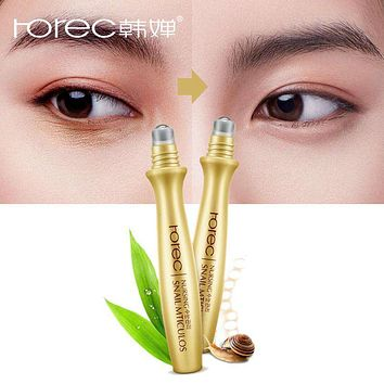 ROREC Eye Serum Instantly Ageless Anti-Wrinkle Snail Essence for Eyes Anti Puffiness