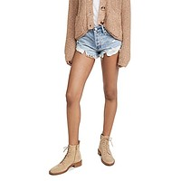 Free People - Short Loving Good Vibrations Shorts in Somerset