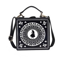 Alice In Wonderland Inspired Crossbody/Shoulder Bag