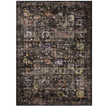 Minu Distressed Persian Medallion 8x10 Area Rug