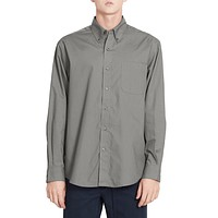 PREMIUM Mens Relaxed Wrinkle Free Long Sleeve Button Down Shirt (CLEARANCE)